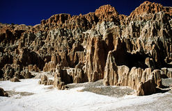 Kathedralen-Schlucht Nevada Stockbilder