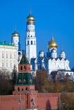 Kathedralen von Kremlin Stockbild