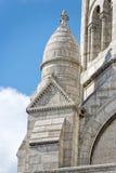Kathedralendetail Paris Montmatre Lizenzfreie Stockbilder