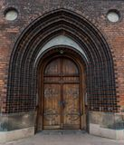 Kathedralenhaupttür Stockfotografie