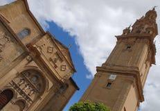 Kathedralenhimmel und -wolken Lizenzfreies Stockbild
