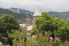 Kathedralenkirche Sioni in Tiflis-Stadt lizenzfreies stockfoto