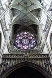 Kathedralenrosette Lizenzfreies Stockbild
