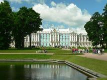 Katherin's Palace. Yekaterinksy Palace at Tsarskoe Syolo (Pushkin) in Russia Royalty Free Stock Photos