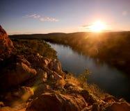 Katherine Gorge. Sunset view of Katherine Gorge outback Australia Stock Image