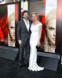 Katherine Heigl και Josh Kelley Στοκ Φωτογραφία