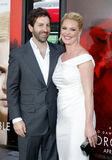 Katherine Heigl and Josh Kelley Royalty Free Stock Images