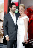 Katherine Heigl and Josh Kelley Stock Image