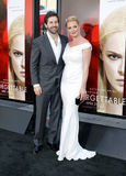 Katherine Heigl and Josh Kelley Stock Images
