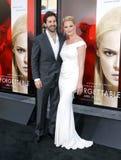 Katherine Heigl and Josh Kelley Stock Photos