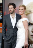 Katherine Heigl and Josh Kelley Stock Photography