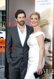 Katherine Heigl and Josh Kelley Royalty Free Stock Photos