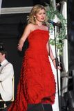 Katherine Jenkins. Performing live at Margam Country Park in Neath Royalty Free Stock Photo