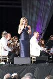 Katherine Jenkins. Performing live at Margam Country Park in Neath, 2007 Stock Photos