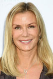 Katherine Kelly, Katherine Kelly Lang. LOS ANGELES - OCT 16:  Katherine Kelly Lang arriving at the 2011 Stuntwomen Awards at the Skirball Cultural Center on Royalty Free Stock Photo