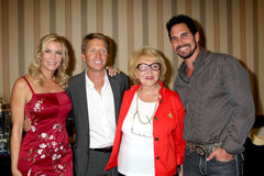 Katherine Kelly,Katherine Kelly Lang,Lee Bell,Don Diamont,Brad Bell Royalty Free Stock Photo