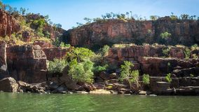 Katherine Gorge River Bank in Northern Territory, Australia royalty free stock photo