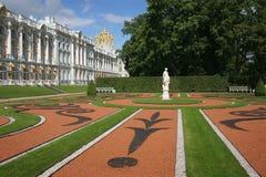 Katherine's Palace. Hall in Tsarskoe Selo (Pushkin), Russia Stock Photos