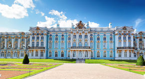 Katherine's Palace hall in Tsarskoe Selo Stock Images