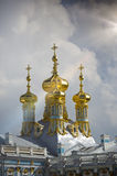 Katherine`s Palace hall in Tsarskoe Selo Pushkin, Russia Royalty Free Stock Images