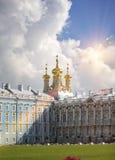 Katherine`s Palace hall in Tsarskoe Selo Pushkin, Russia Royalty Free Stock Photography