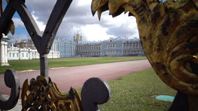 Katherine`s Palace hall in Tsarskoe Selo Pushkin, Russia stock video