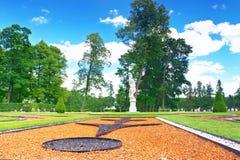 Katherine's park hall in Tsarskoe Selo (Pushkin). Royalty Free Stock Image