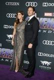 Katherine Schwarzenegger i Chris Pratt obrazy stock