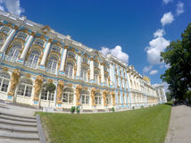 Katherine's Palace hall in Tsarskoe Selo (Pushkin), Russia Royalty Free Stock Image