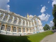 Katherines Palace hall in Tsarskoe Selo Pushkin, Russia Royalty Free Stock Image