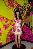 Katy Perry wax statue, Madame Tussaud`s Museum, Vienna royalty free stock photo