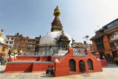 KatheSimbhu Stupa i Katmandu, Nepal Royaltyfri Foto
