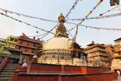 KatheSimbhu Stupa i Katmandu, Nepal Royaltyfria Bilder