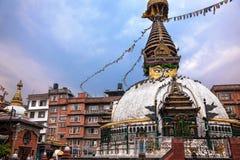 Kathesimbhu stupa in Kathmandu Stock Photography