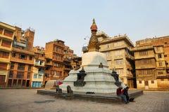 KatheSimbhu Stupa in Kathmandu, Nepal Stock Images