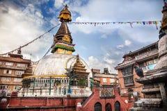 Kathesimbhustupa in Katmandu stock afbeelding