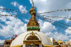 Kathesimbu Stupa στο Κατμαντού, Νεπάλ στοκ εικόνες με δικαίωμα ελεύθερης χρήσης