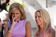 Kathie Lee Gifford & Hoda Kotb Royalty Free Stock Photo