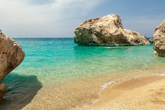 Kathisma beach on Lefkas island Greece Royalty Free Stock Image