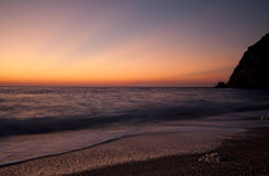 Kathizma Sonnenuntergang Stockbild