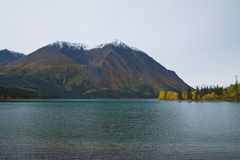 Kathleen Lake, along the Haines Highway Royalty Free Stock Images