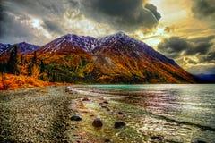 Kathleen Lake, Yukon Royalty Free Stock Image