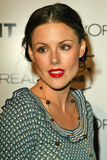 Kathleen Robertson. At Flaunt Magazine's 6 Year Anniversary Party and holiday toy drive to benefit Para Los Ninos, Private Residence, Los Angeles, CA. 12-10-04 Royalty Free Stock Photography