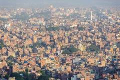 Kathmadu von der Oberseite Lizenzfreies Stockbild