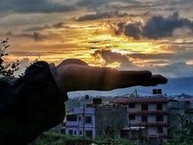kathmandu стоковое изображение rf