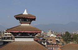 Kathmandu. The capital city from Nepal,Kathmandu, partial view of houses Stock Photography