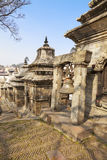 kathmandu antyczny dzwonkowy pashupatinath Nepal fotografia stock