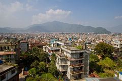 Kathmandu city Royalty Free Stock Photography