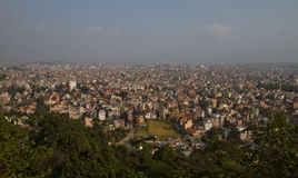 Kathmandu city Royalty Free Stock Photo