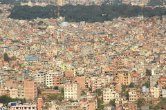 Kathmandu City. Royalty Free Stock Images